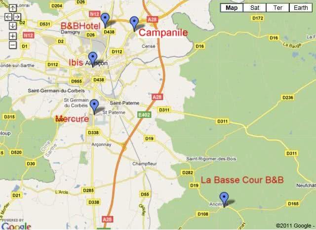 Hotels Near Alencon France