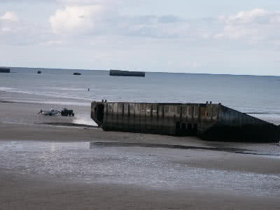 Arromanches Mulberry Harbour