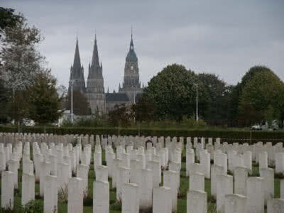 British Cemetery and Bayeux Cathedral