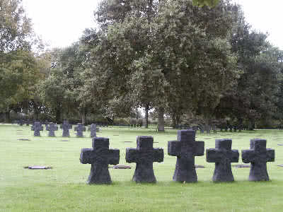 German cemetery at la Cambe