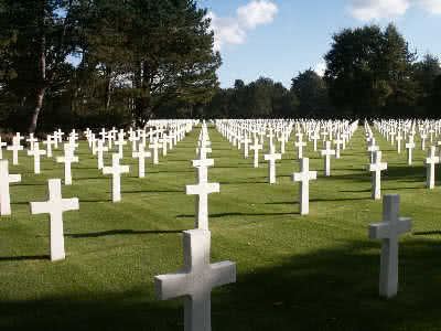 USA War Graves St Laurent sur Mer