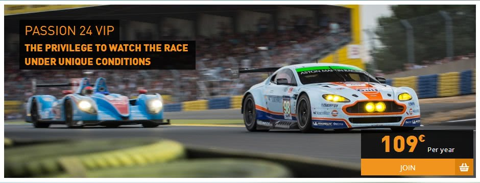 Tickets for le mans